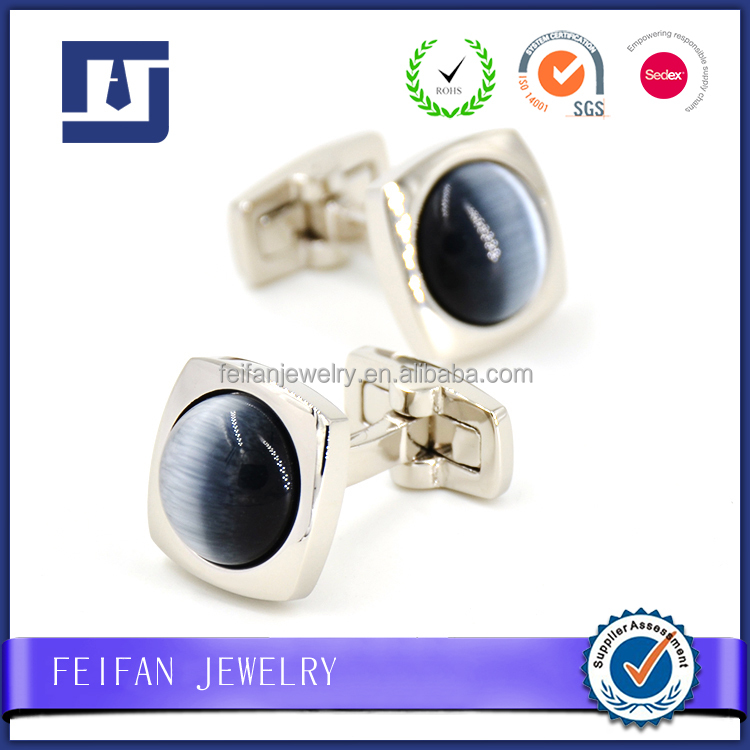 Opal Stone Sterling Silver Cufflinks Original Manufacturer Wholesale