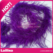 Wholesale Two Ply Natural Ostrich Feather Boa Decoration