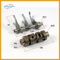 Gearbox forks kit for 200cc ATV aircooling cylinder D63.5MM