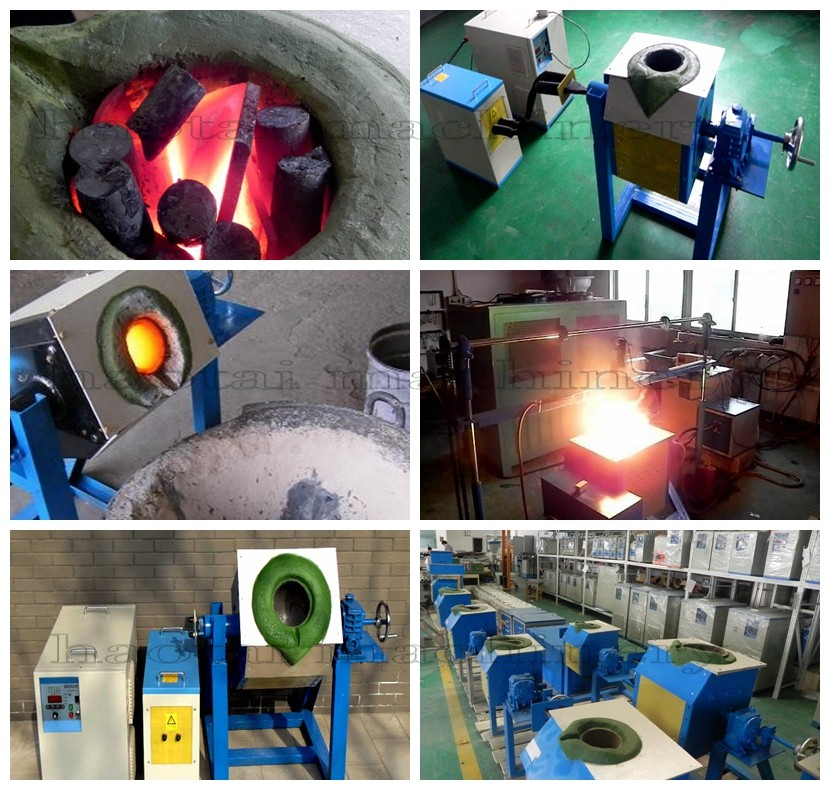 Best quality 250/500/750kg induction melting furnace for CCM