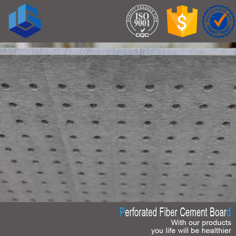 Fireproof perforated fiber cement board specification