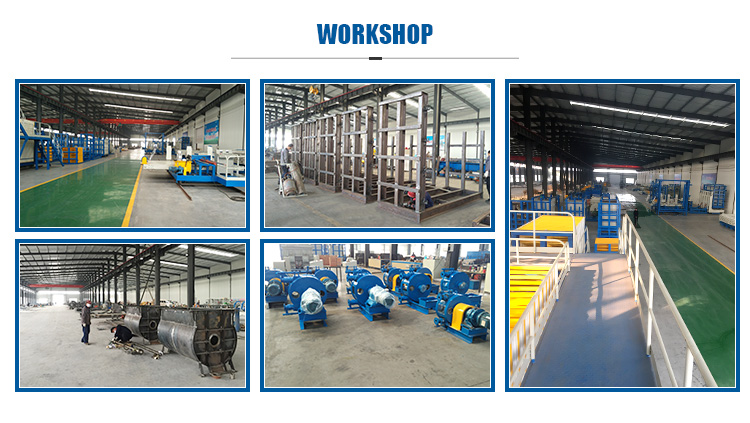 Fiber Cement Board Sandwich Panel Production Line/Light Weight Concrete Wall Panel Making Machine