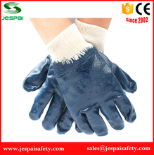 full coated nitrile oil industrial use working gloves