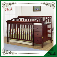 New Zealand Pine Baby Wooden cot, Baby Cribs Model Item :NCL-23