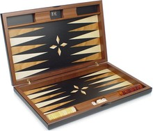 high quality custom acrylic backgammon with chips and dice set