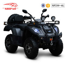 SP250-6L Shipao new technique water cooled atv quad
