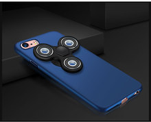 New Arravil Socket Fidget Spinner &Hard PC Case for Iphone 6/6s/7plus Colorful Anti-Wear 360Degree Protect Mobile Phone Case
