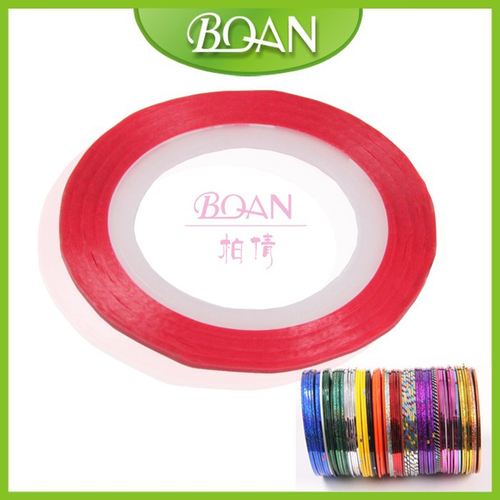 BQAN New Design French Manicure DIY Nail Guide Sticker Tape