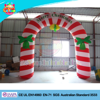 Merry Christmas Arch/ Christmas inflatable for advertising