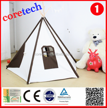Hot sale Durable comfortable kids play tent house, teepee tent