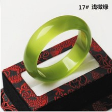 High quality cat eye jade bangle jade jewelry with size for European women