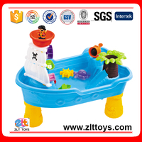 Pirate ship sand and water play beach table toys