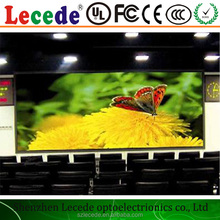 Indoor Rental Full Color HD SMD2121 Black P3 LED Display With Die Casting Aluminum Cabinet 576mm x 576mm