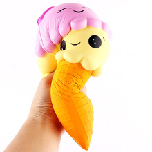 Yiwu Juze Mini Ice Cream Custom Style Stress Relief Slow Recovery PU Foam Toys