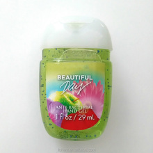 China wholesale free sample Antibacterial hand sanitizer gel without water