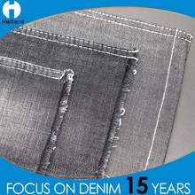high quality cotton stretch spandex twill fabric for denim jeans