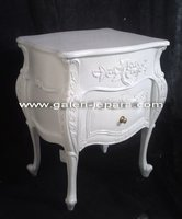 French Furniture Antique - Jepara Indonesia Furniture - Nighstand Baroque