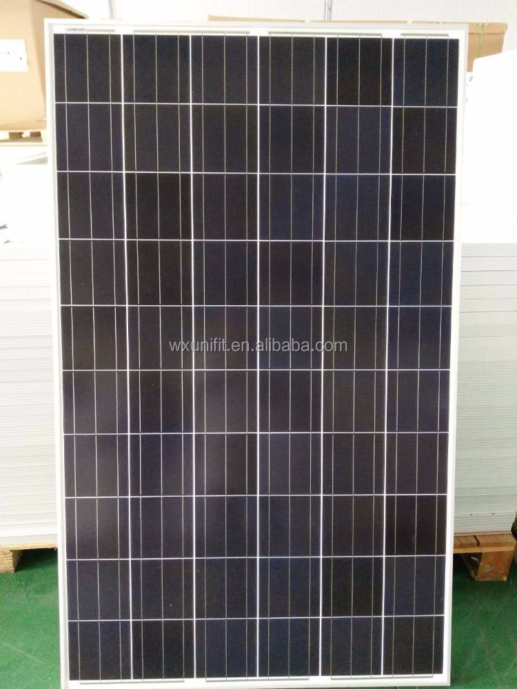 A grade poly crystalline silicon 72 cells 300 solar panel manufacturers in china