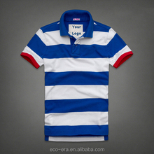 Latest Fashion Custom Polo Shirt Cheap Wholesale Striped Polo