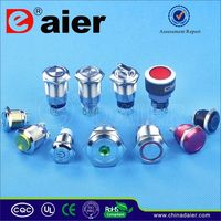 Daier dpdt momentary push button switch