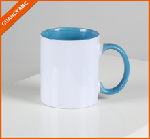 Ceramic Material and Porcelain Ceramic Type Sublimation Blanks Inner Color Mug