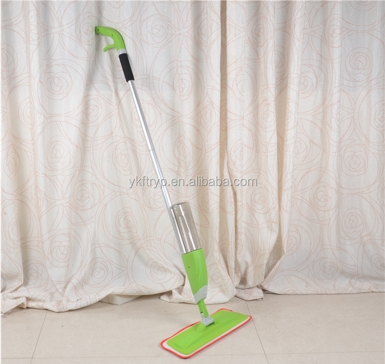 Quick Clean Spray Mop with Swipes Microfiber Scrubbing Pad