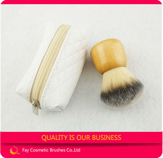 2014 best cosmetic powder brush kabuki with cosmetic brush case