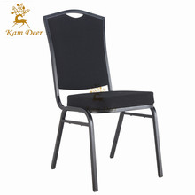 Wholesale Garden Stacking Metal Hotel Banquet Chair With Seat Cushions