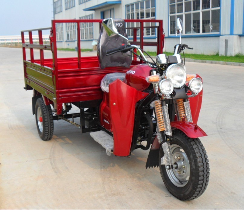 newest cheap China 150cc cargo truck tricycle three wheel motorcycle