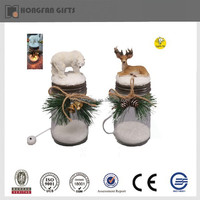 Noel Christmas led light snow bear and deer table decoration