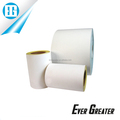 Waterproof white clear pvc adhesive vinyl sticker paper rolls
