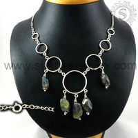 Silver Jewellery, Designer Silver Necklace, Fashion Silver Jewellery