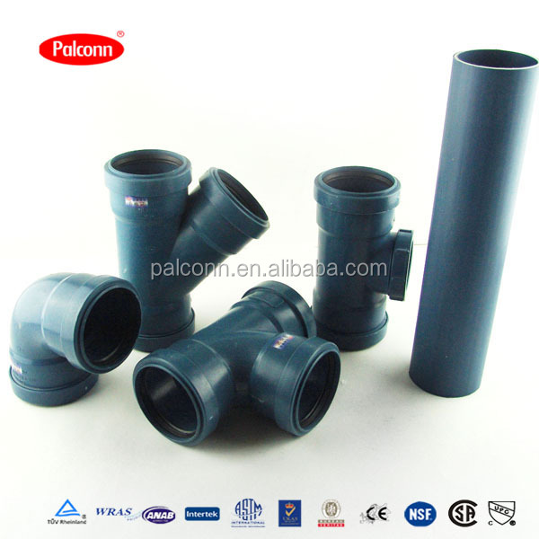 50mm 75mm 110mm 160mm PP Soundproof Drainage pipes
