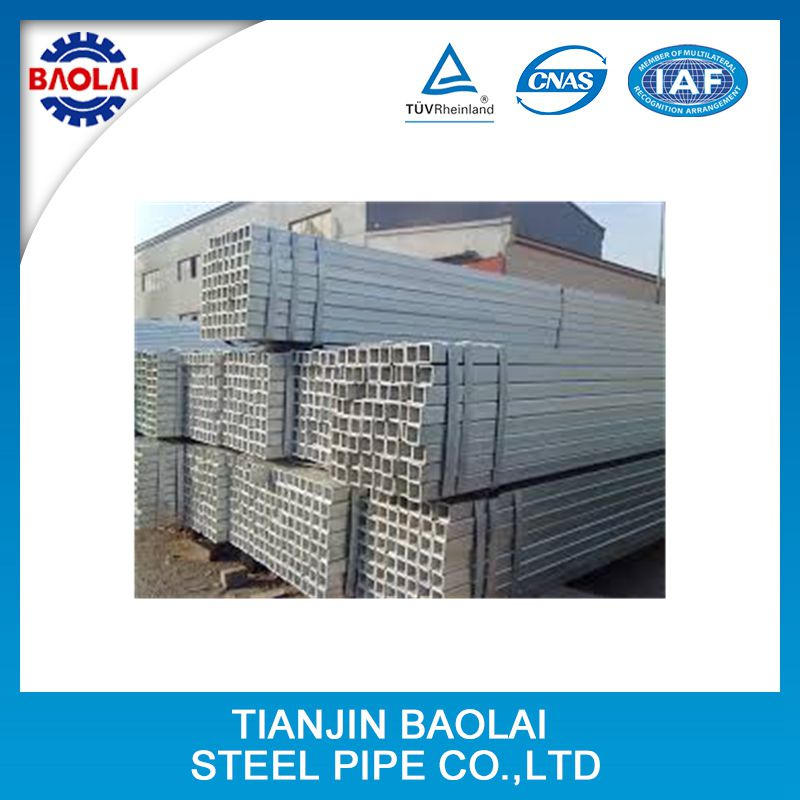 FACO GI RHS ! 32mm gi pipes good quality electro galvanized square steel tube