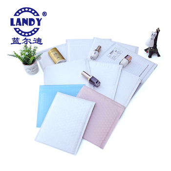 Hot Christmas style wholesale customized nontoxic colorful poly bubble mailers bags for protective packaging