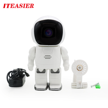 Robot Security Cameras IP Waterproof IP Camera wireless hidden Fixed Lens Mega Pixel wifi IP Camera system