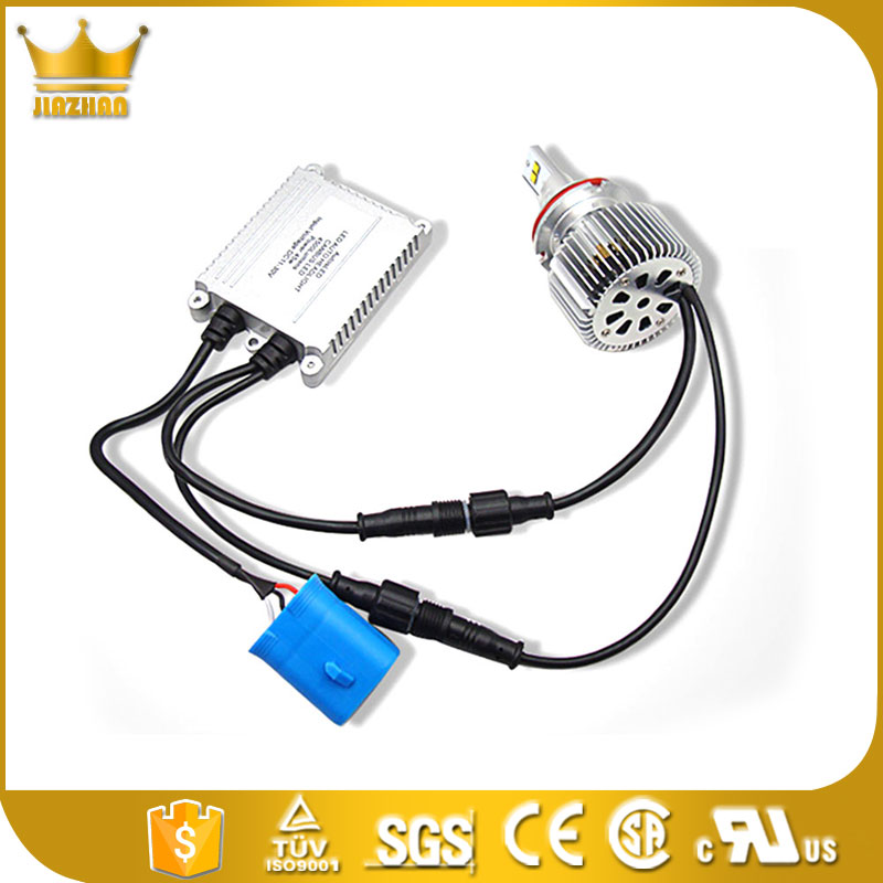 high power H7 48W/Set 7200LM/Set COB 6000K White Auto Car Led COB Lamp Fog Headlight Plug&Play W/ Fans