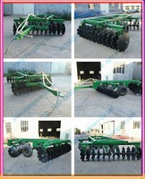 Ploughing machine tractor harrow offset heavy disc harrow