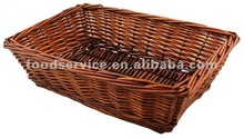 Willow Bread Baskets Rectangular