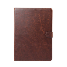 high end crazy horse PU leather flip case for samsung galaxy tab s3 9.7 T820