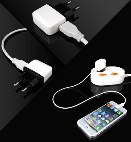 Mobile phone 5v 2a wall 1USB 10w charger