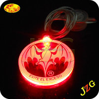 2015 best promotional christmas gifts flashing christmas light necklace for party decoration