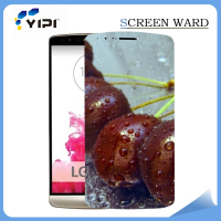 HD clear mirror screen guard/protector for LG G3 ,HD anti-glare screen film