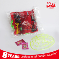 Cool Plastic Spider Man Mask Toy Candy with Popping Candy
