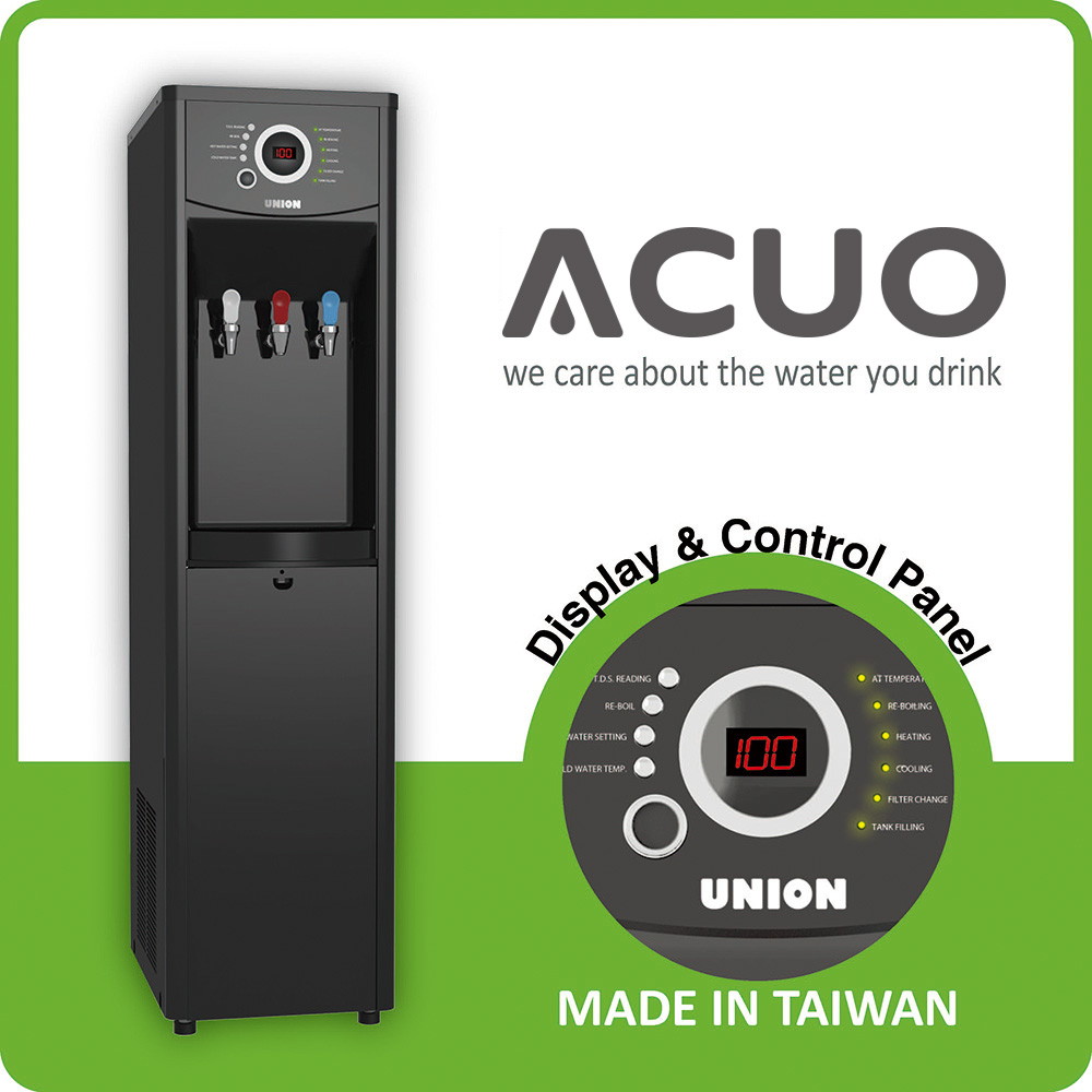 UO-1302AG Floor Standing Computerized Water Dispenser