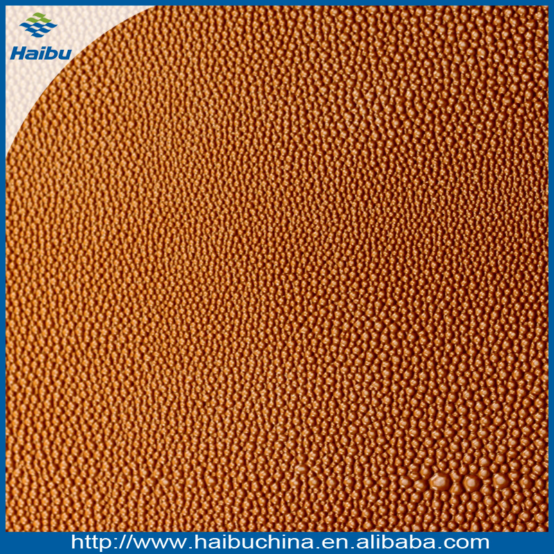 water bubble pattern top grain leather for lady bags making