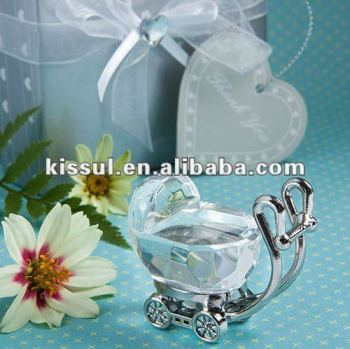 Crystal Pram Baby shower Birthday Party Decoration favors