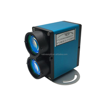 High speed 100m mini auto sensor distance laser distance sensor/laser distance meter Programmable analog output 4-20mA