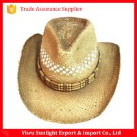 Wholesale cheap straw cowboy hat