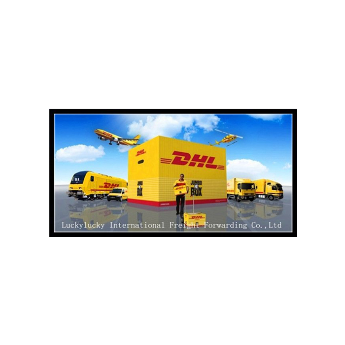 DHL courier service door to door from china to Costa Rica